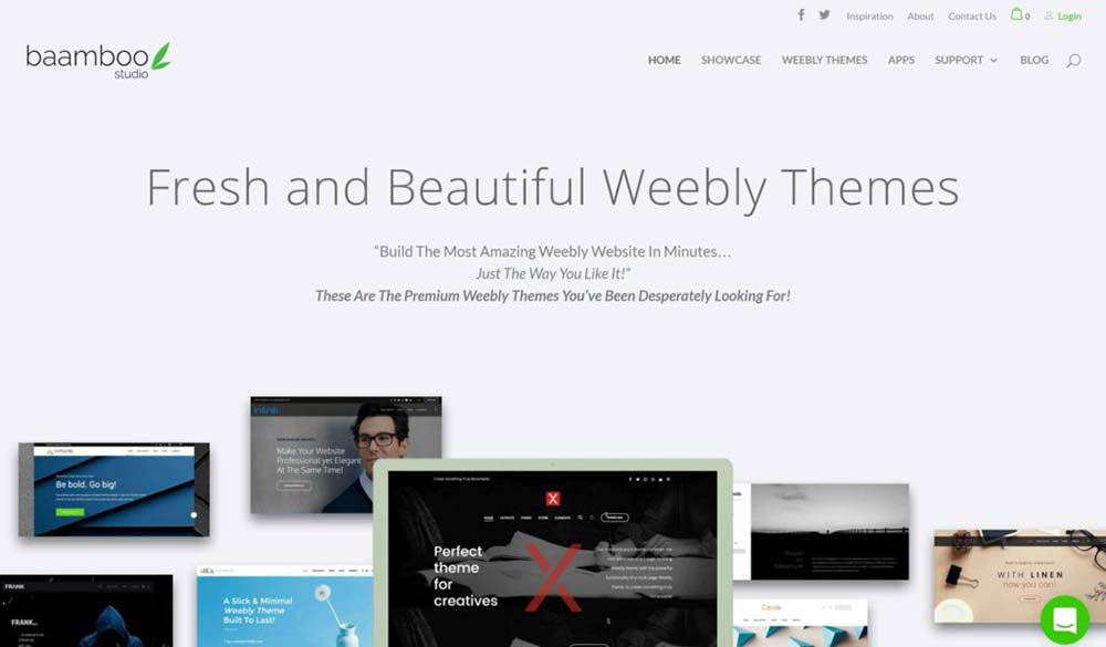 Baamboo Studio Beautiful Premium Weebly Themes 1