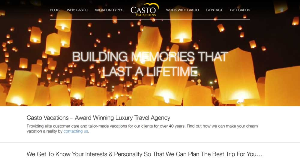 weebly website example costa vacations 1