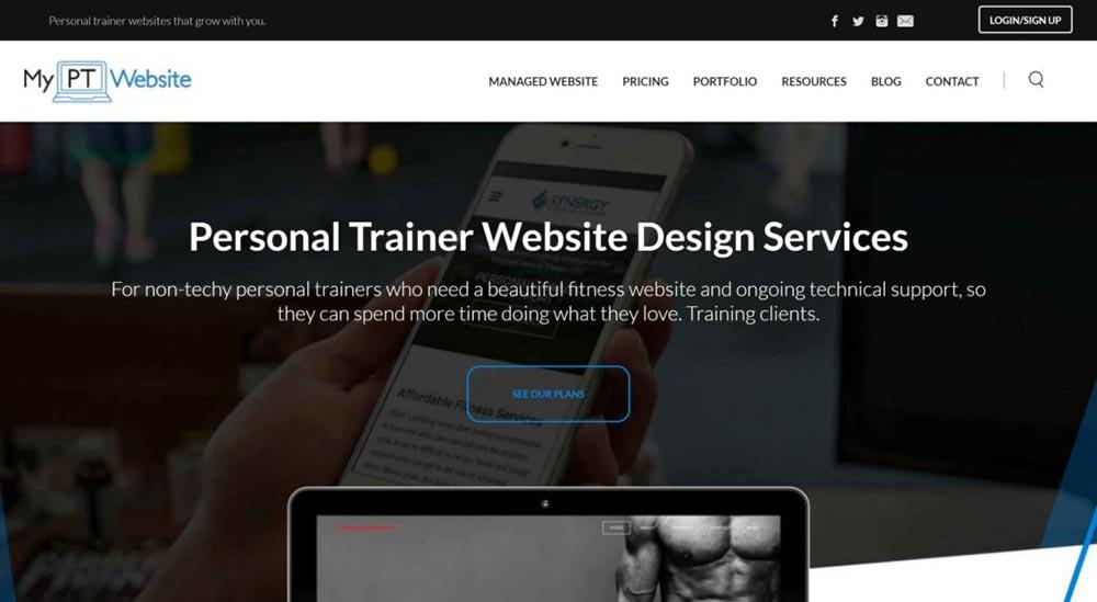 weebly website example my pt website 1