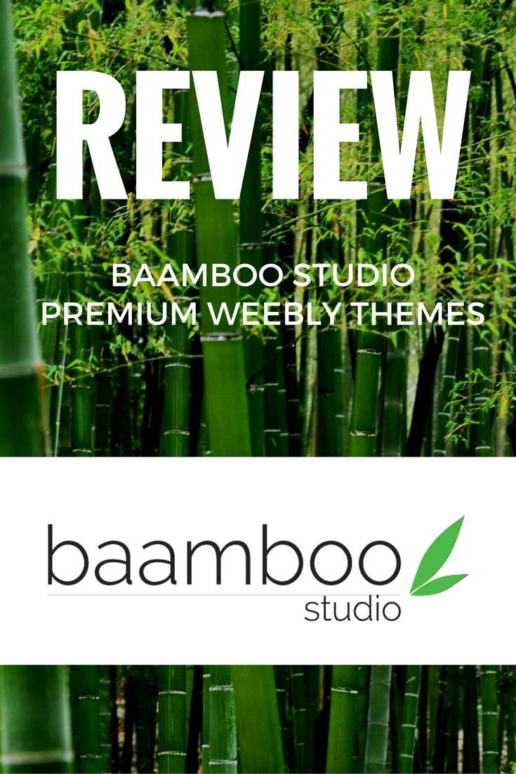 Weebly is one of the best website builders around, but their themes are a bit basic. See if Baamboo Studio's premium themes are worth your money.