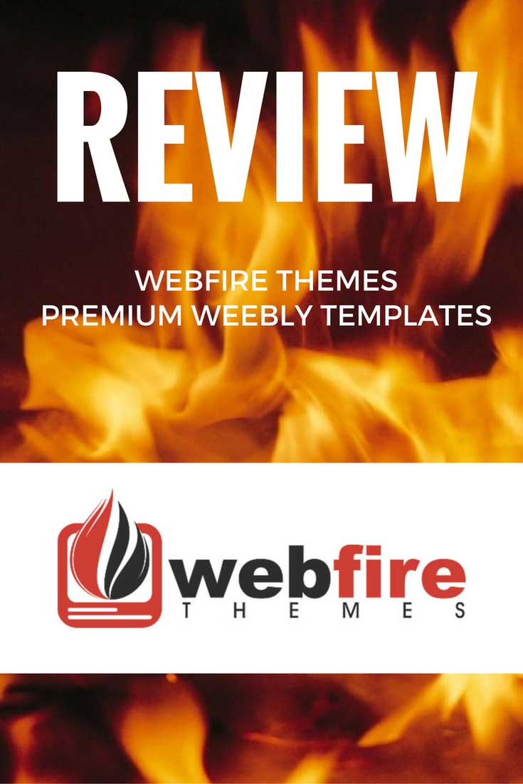 My full review of Webfire Themes, maker of premium Weebly templates.