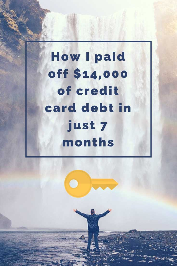 The major keys to paying off credit card debt FAST.