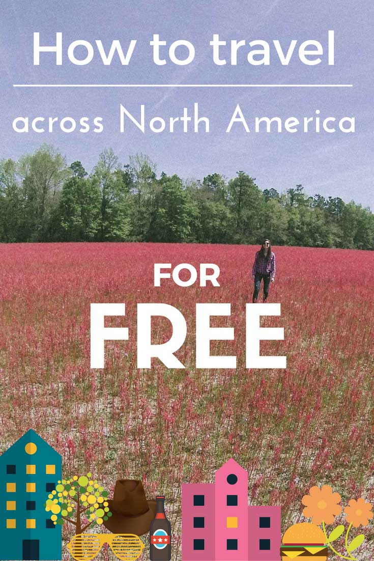 Find out how you can travel all over North America for FREE. No joke.