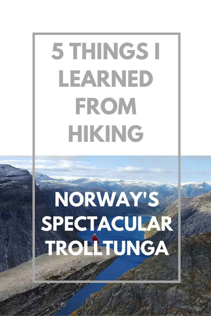 I hiked Norway's Trolltunga. Here's some things I learned while doing it.