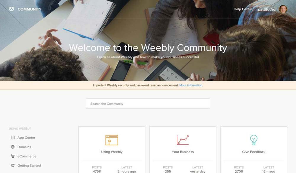 weebly review community 1