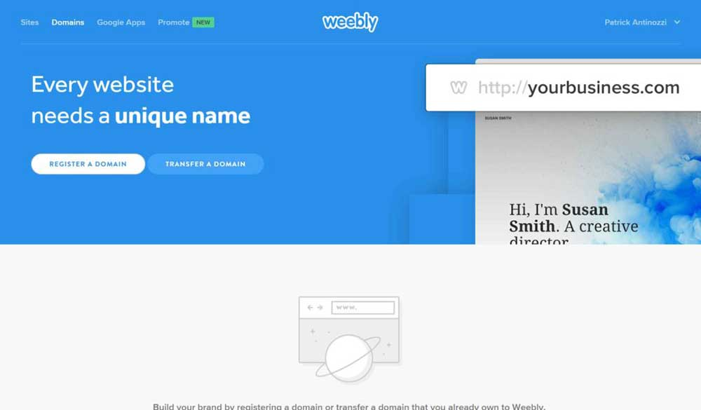 weebly review domains 1