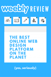weebly review pinterest