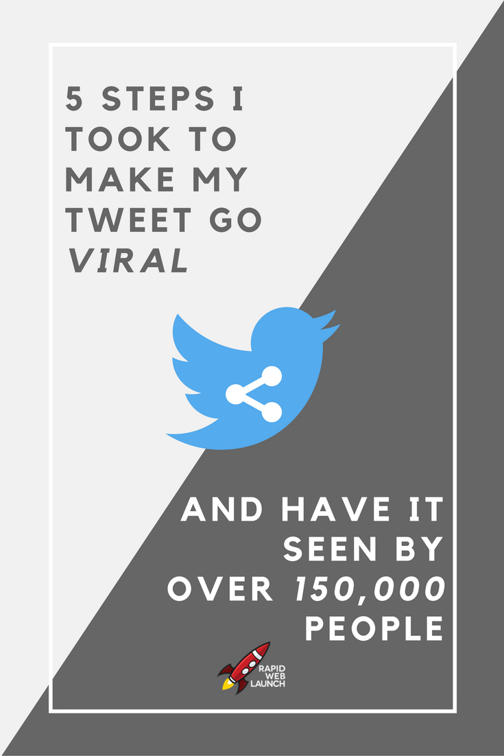 Getting noticed on Twitter is hard. Here are the 5 steps I used to get my tweet to go viral.
