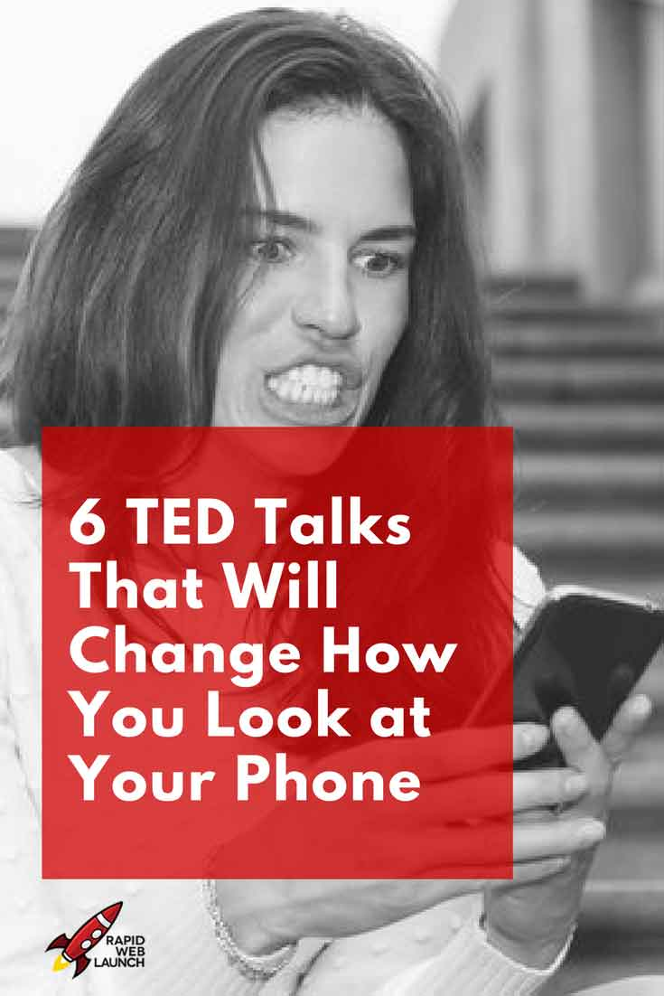 These 6 TED talks will change how you look at the addictive device sitting in your pocket. Smartphone addiction, is it a real thing?