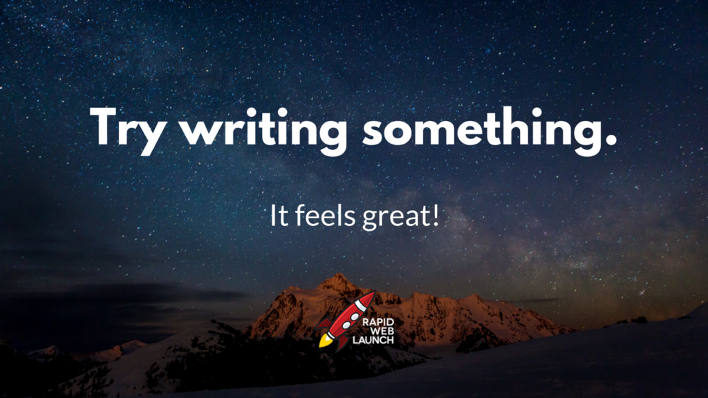 Write With Us!