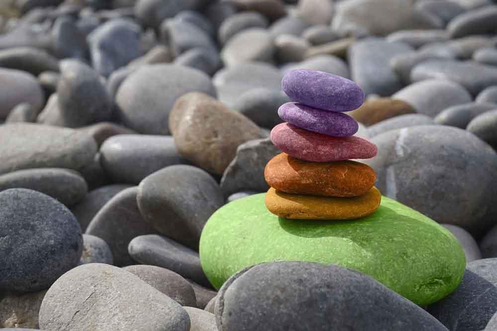 work life balance rocks 1