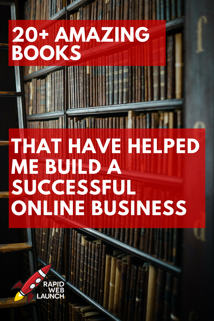This is my complete list of every business book that has helped me build and grow my online business. Entrepreneur stories, productivity hacks, and creative inspiration abound!