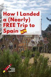 free trip barcelona