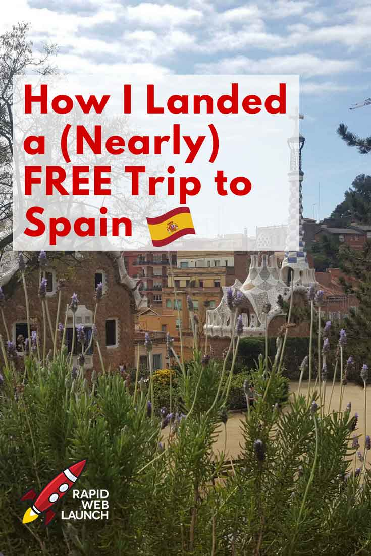 Finding ways to travel for free takes a lot of creativity, confidence and a little