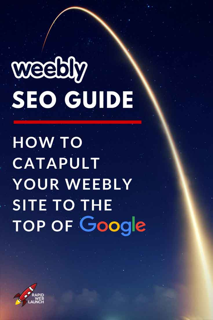 A full tutorial to Weebly SEO.