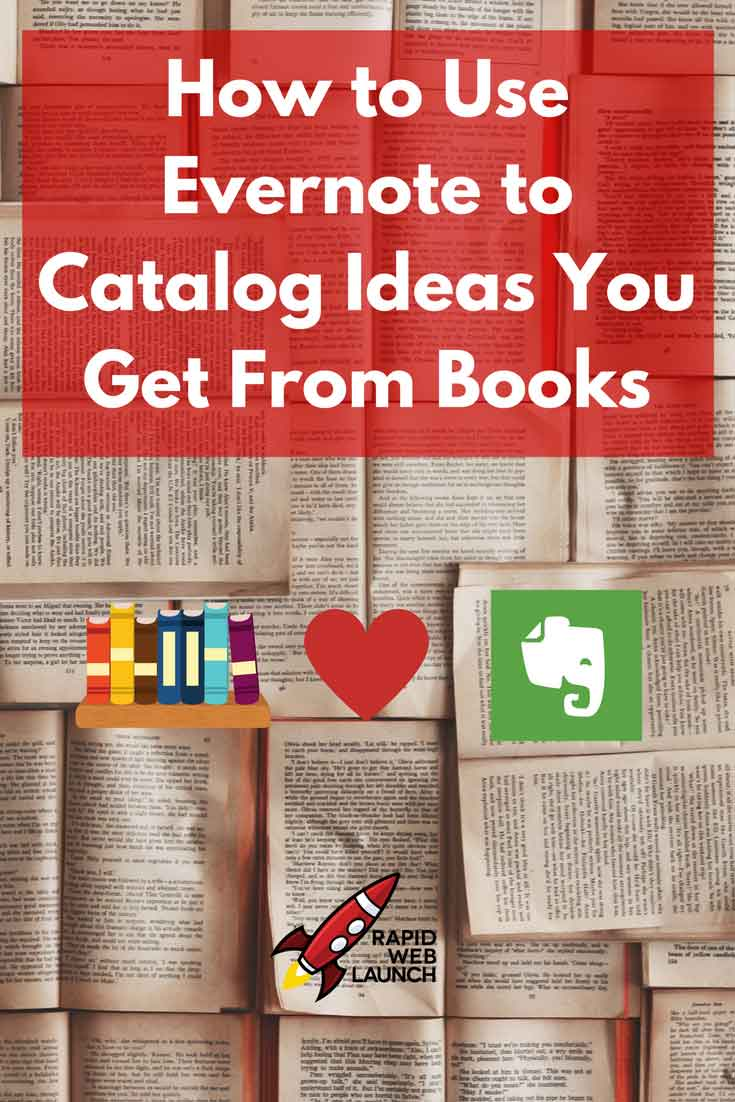 When you read a lot of books, it can be difficult to retain the information you've consumed. Learn how to use Evernote to save ideas you get from books.