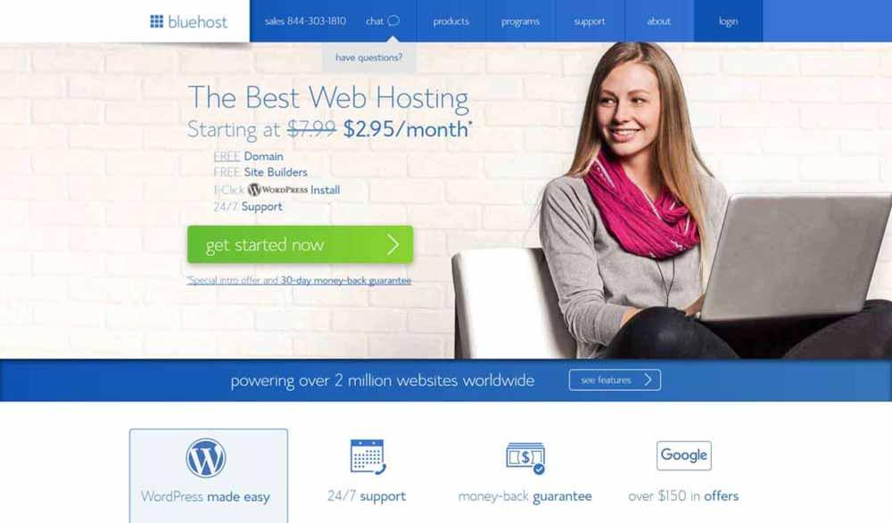 bluehost web hosting 1