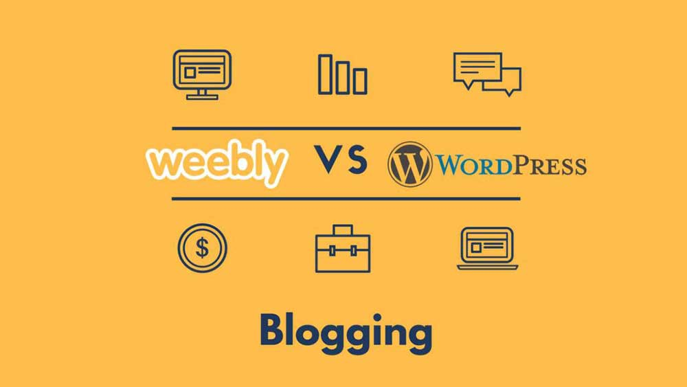 weebly vs wordpress blogging