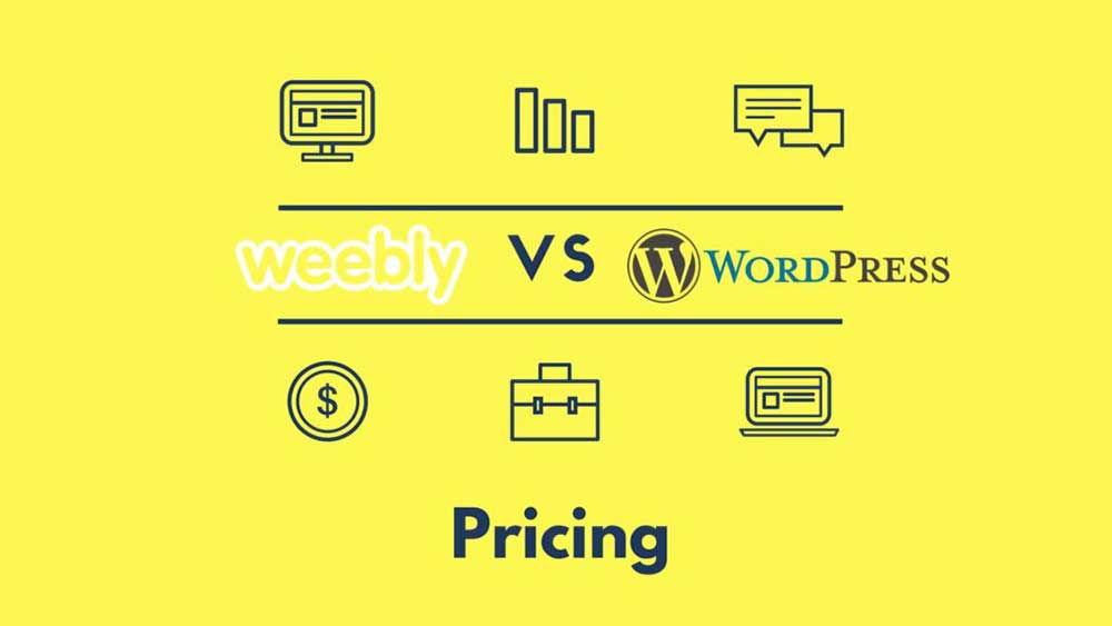 weebly vs wordpress pricing 1 1