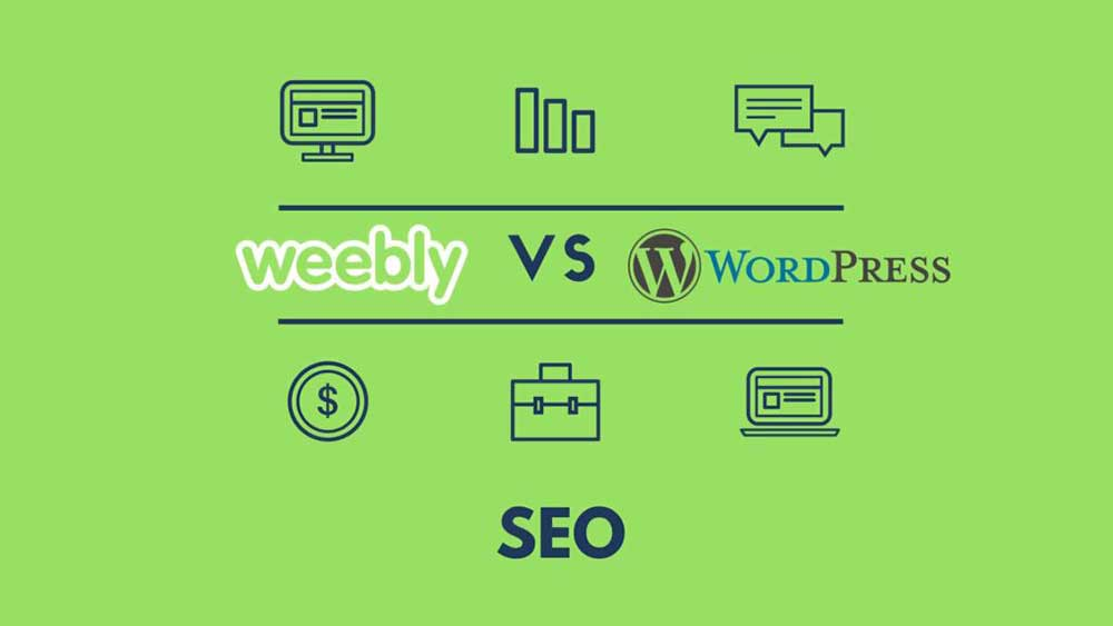 weebly vs wordpress seo