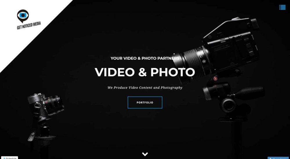 website design for photographers