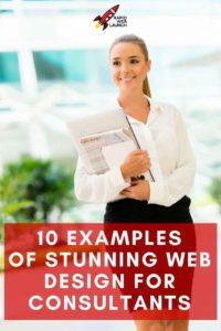 consultant web design examples
