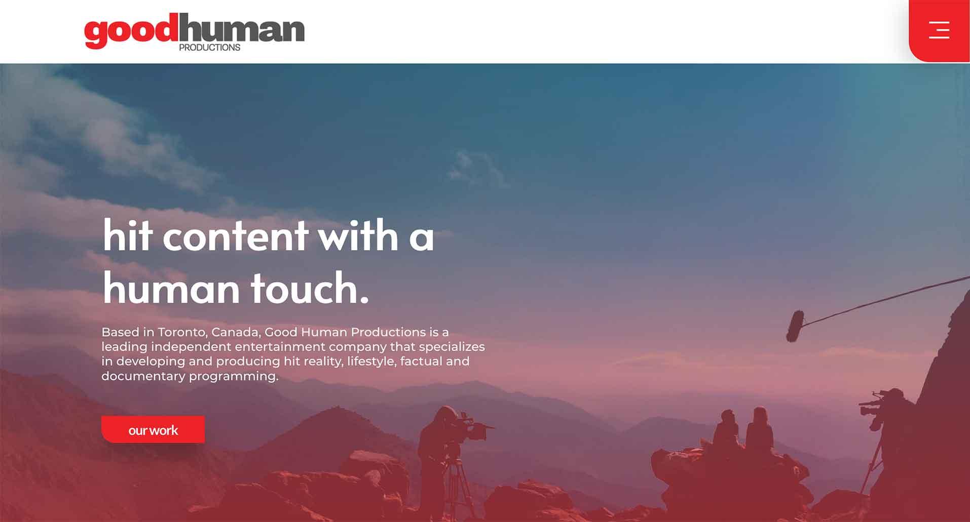 consultant website example