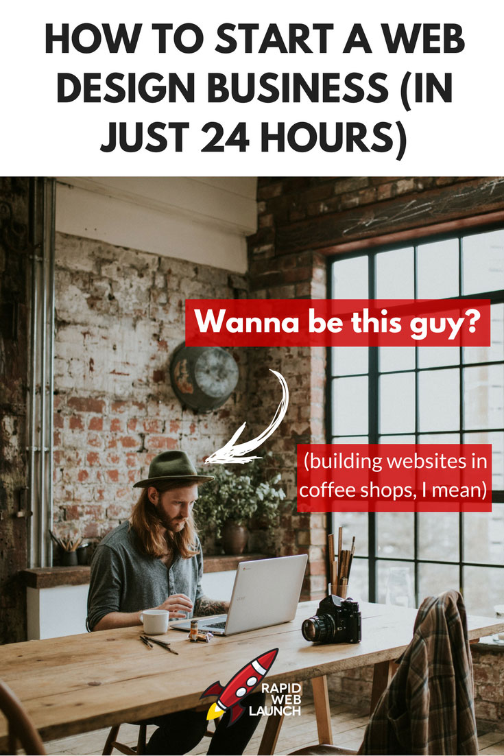 Building my own web design business is one of the most rewarding things I've ever done. Use this full 13-step guide to start your own web design business in just 24 hours. Yes, seriously.