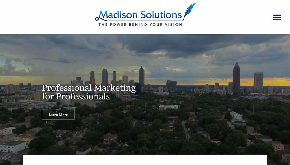 consultant website examples