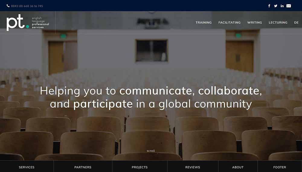 pt consulting website 1