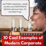 corporate web design examples