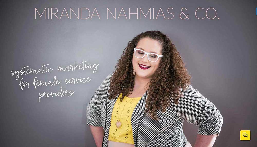 Miranda Nahmias Co blog 1