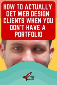get web design clients