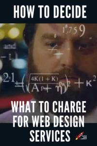 how much to charge for a website
