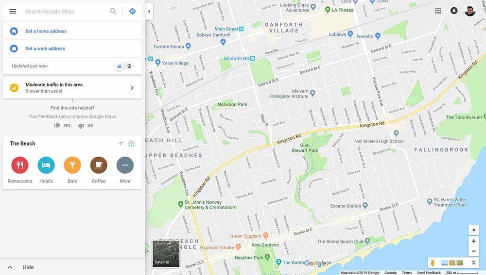 web design clients google maps 1