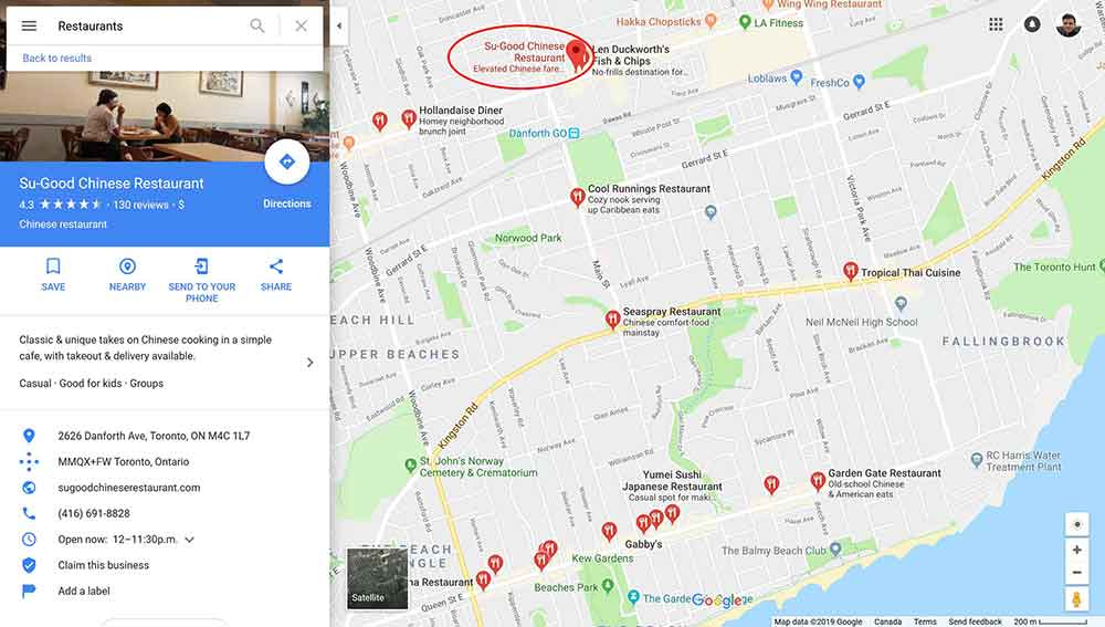 web design clients google maps 3 1