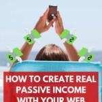 passive income web design business