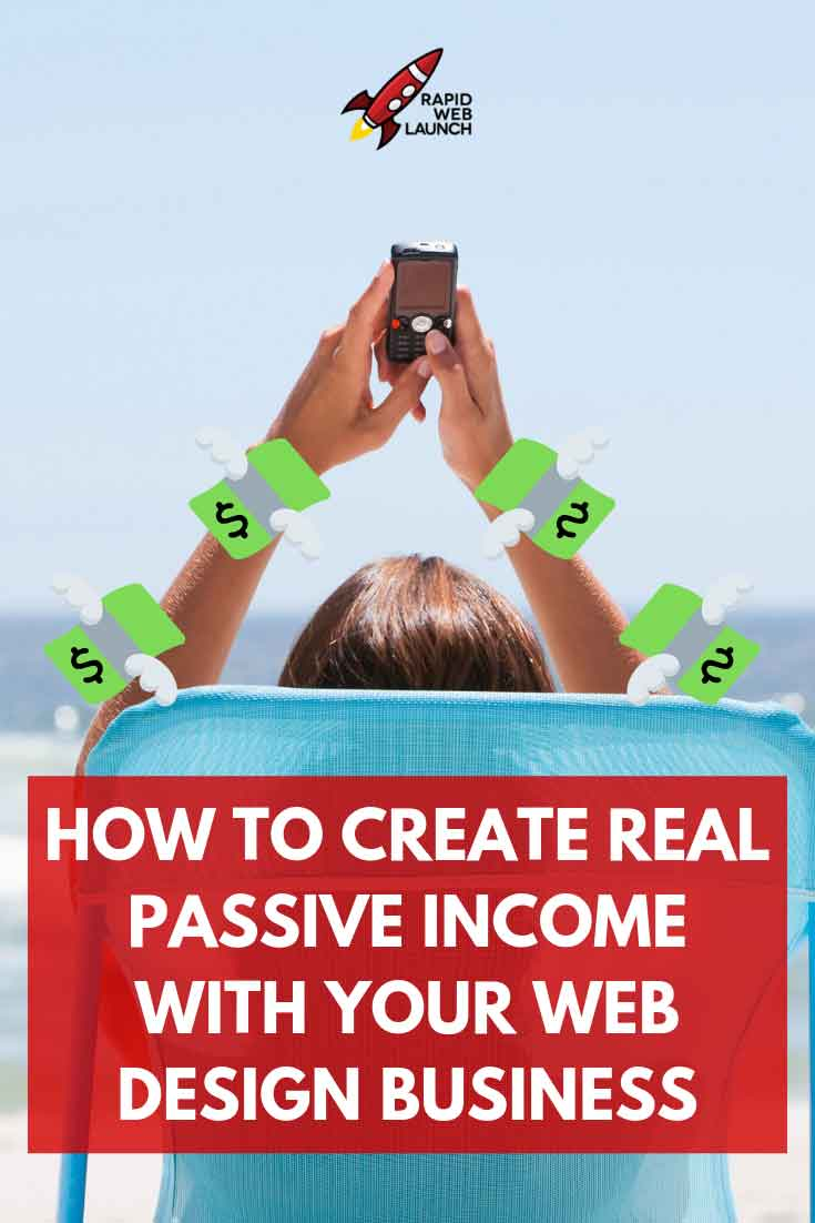 passive income web design business