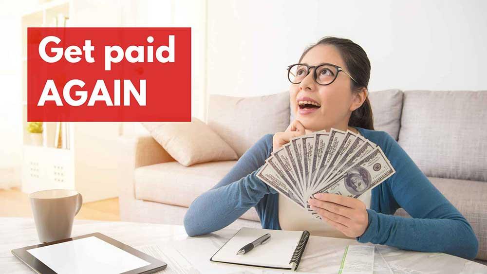 get paid again 1
