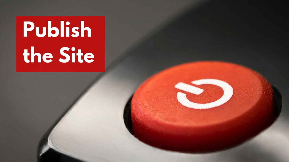 publish website 1
