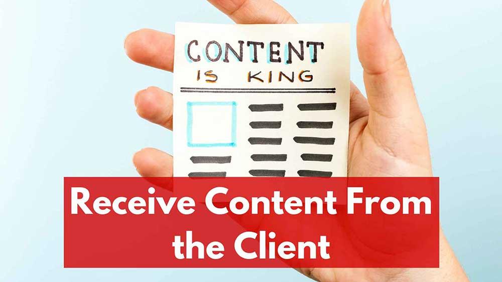 receive content 1