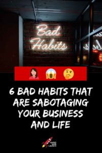 eliminate bad habits