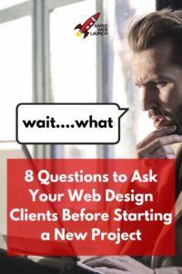 web design questions
