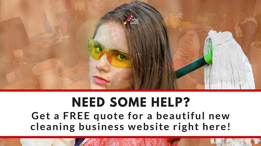 affordable cleaning business web design 1