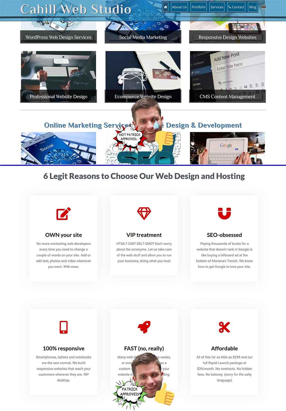 website white space comparison 1