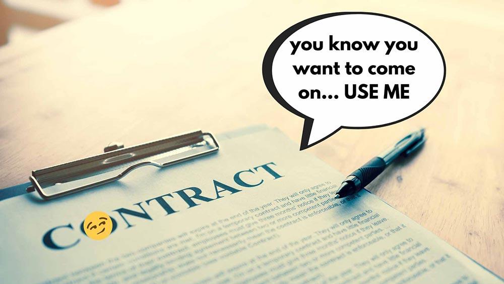 use web design contract 1