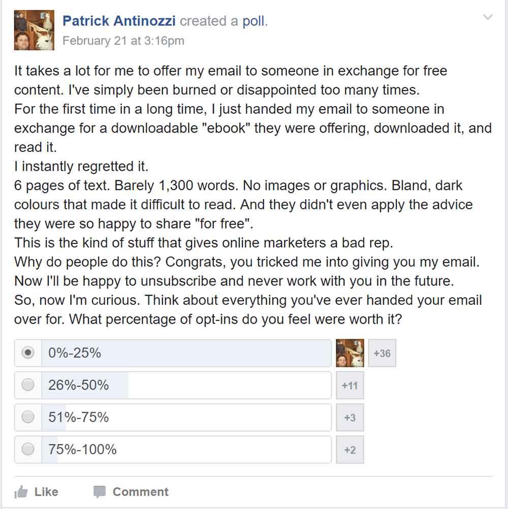 online business bffs email marketing question 1