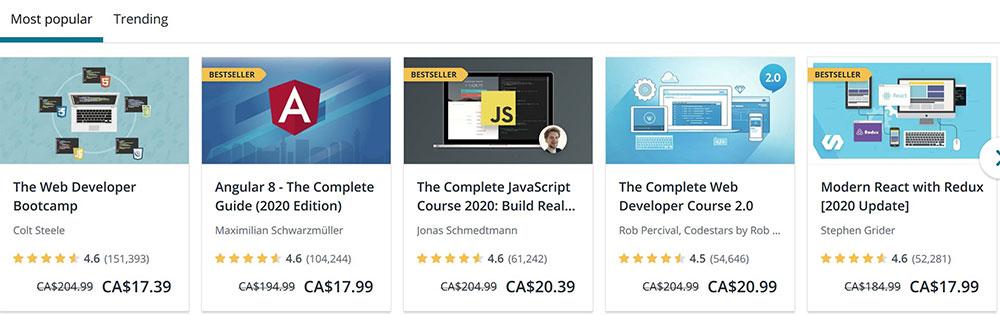 top web design courses udemy 1