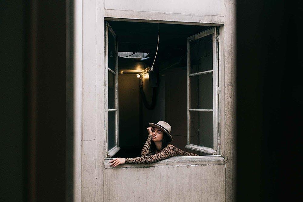 bored woman quarantine covid 19 1