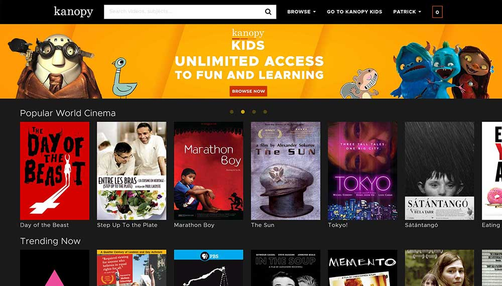 kanopy streaming content library 1